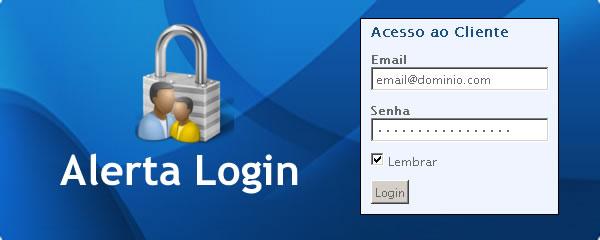 Alerta Login
